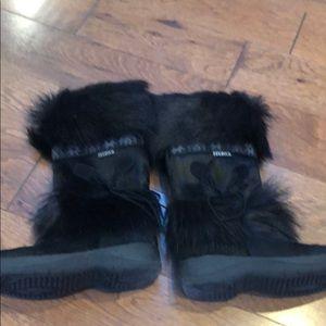 TECNICA BLACK WINTER BOOTS